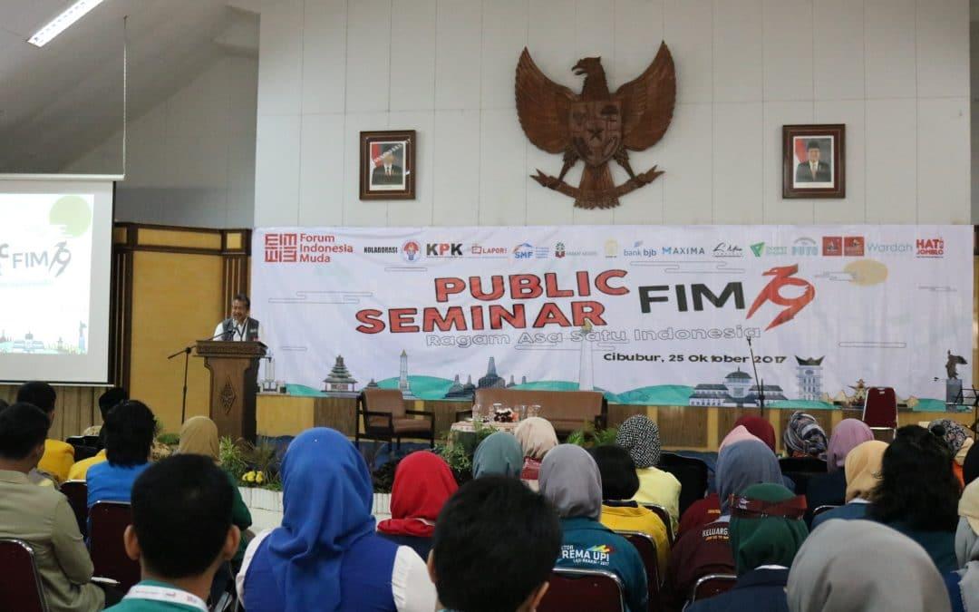 "Seminar Publik ""Ragam Asa Satu Indonesia"" bersama Forum Indonesia Muda"