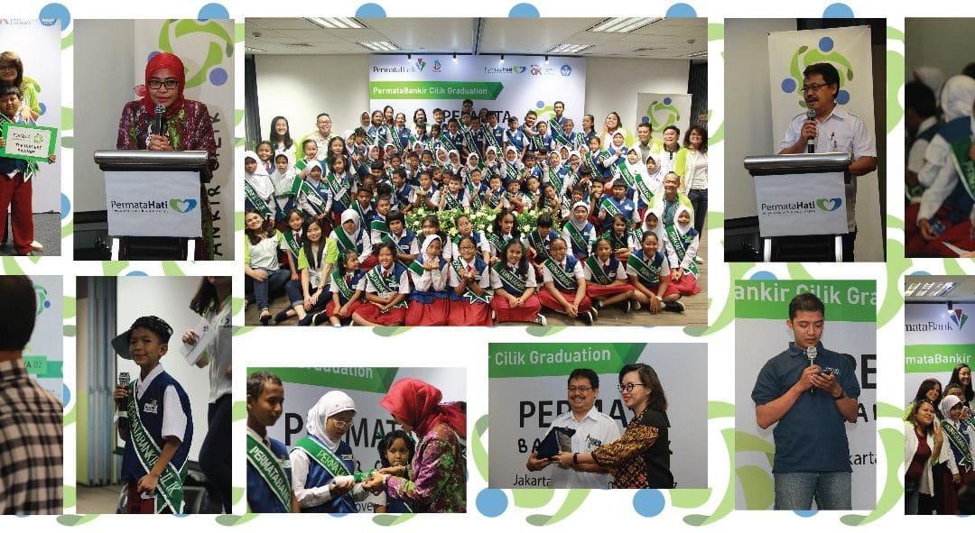 Wisuda dan Penghargaan kepada Duta PermataBankir Cilik 2017 PermataBank2017