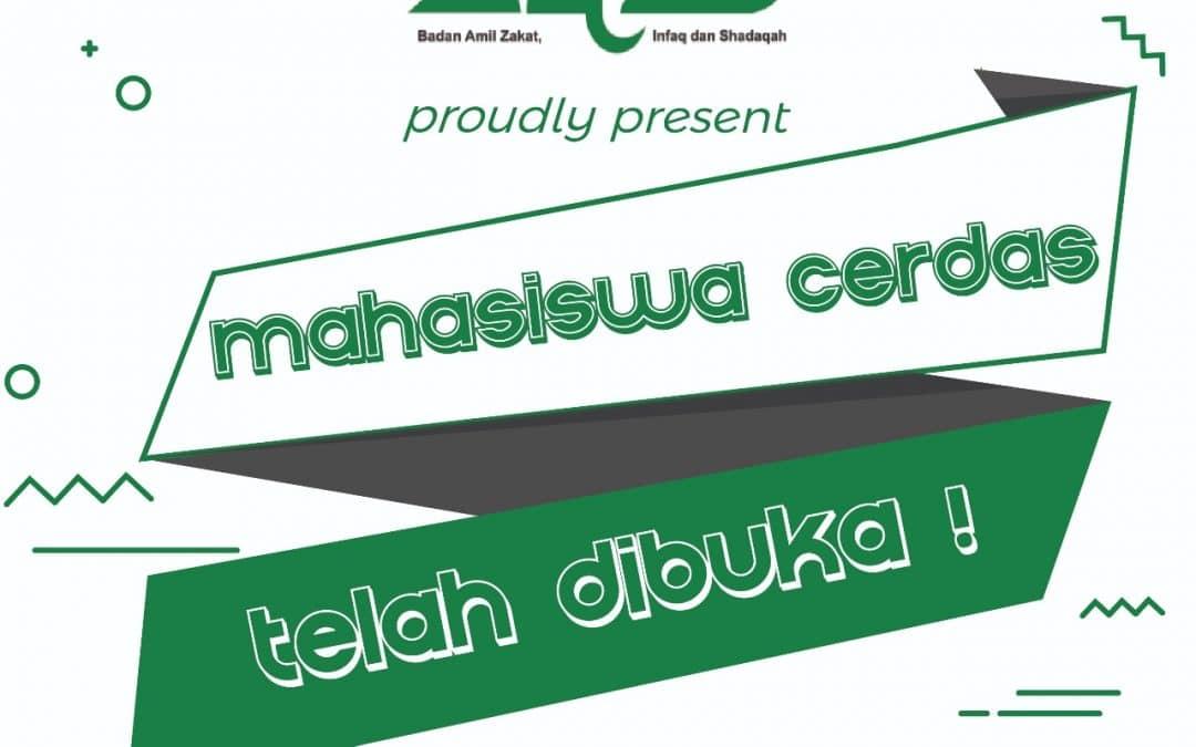 PENGUMUMAN HASIL SELEKSI PROGRAM MAHASISWA CERDAS BAZIS PROVINSI DKI JAKARTA 2018