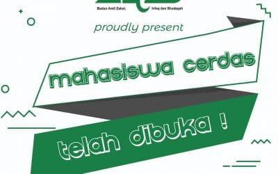 Resmi Dibuka Pendaftaran Untuk Program Mahasiswa CERDAS BAZIS DKI Jakarta 2017