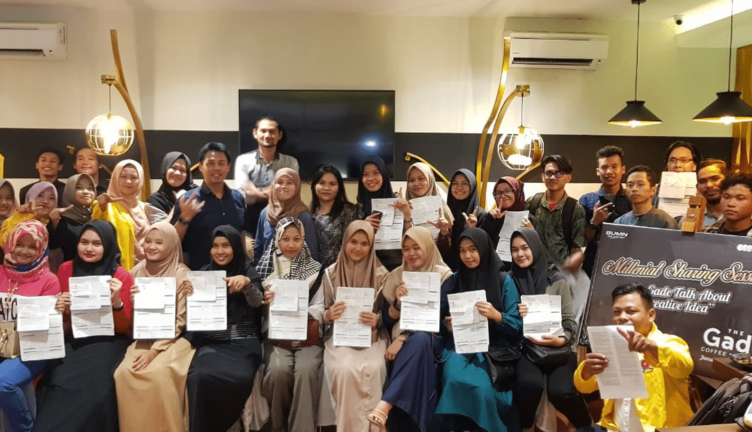 Sharing Session Millennial bersama Pegadaian di 7 Kota Besar di Indonesia