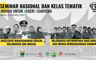 Seminar Inovasi untuk Negeri Sejahtera